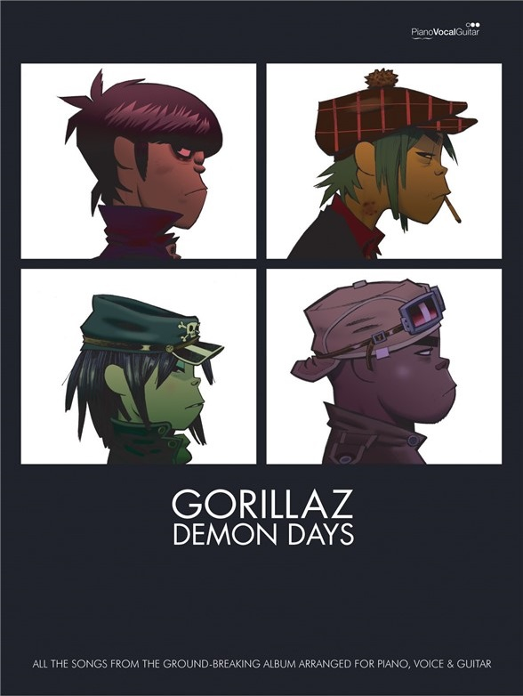 Demon Days Sheet Music.jpg