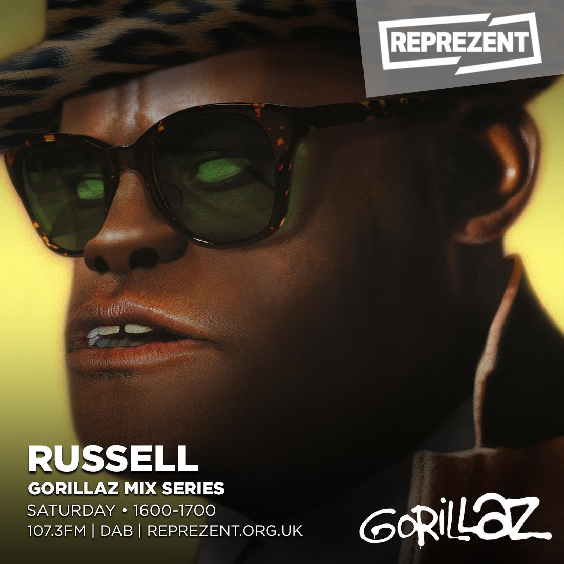 Gorillaz Mix Series: Russel