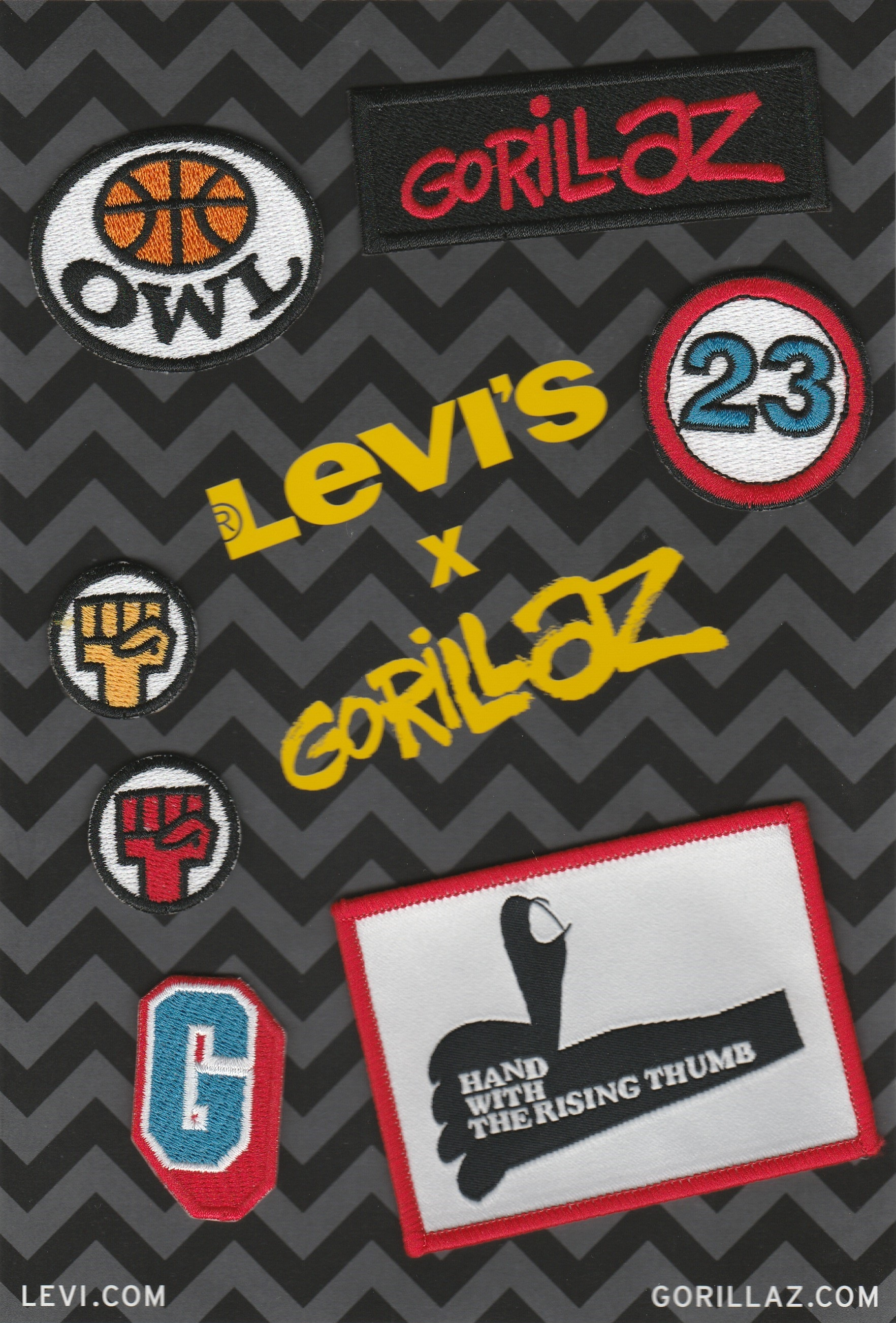 Levi's Patches