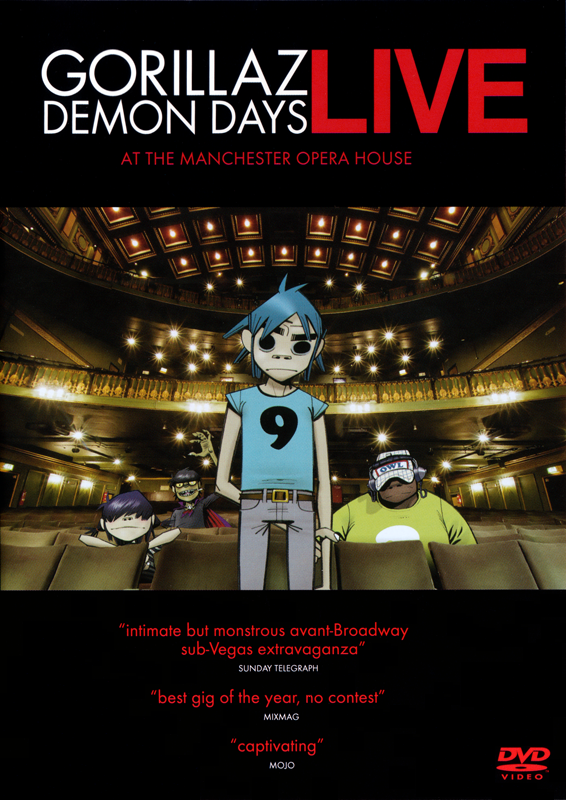 Demon Days Live at the Manchester Opera House