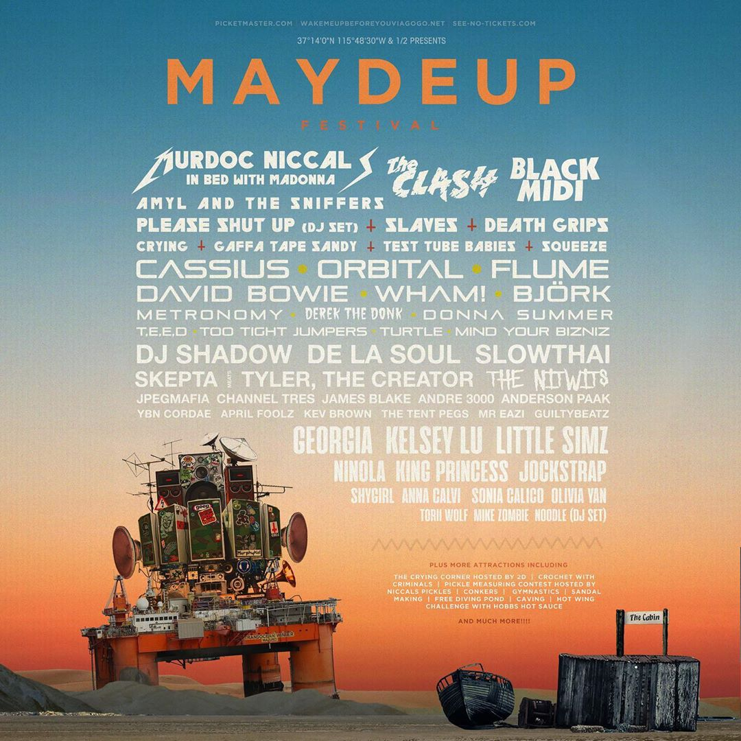 Maydeup Festival Playlist
